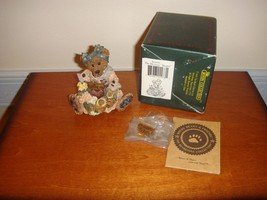 Boyds Bearstone Justina The Message Bearer - $12.99