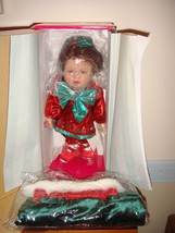 Marie Osmond Merry Kisses Christmas Stocking Girl Hershey's - $24.99