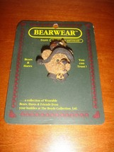 Boyds Bears Pin Emma Bear Halloween Witch - $7.59