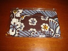 Vera Bradley Slate Blooms Zip ID Case - $13.99