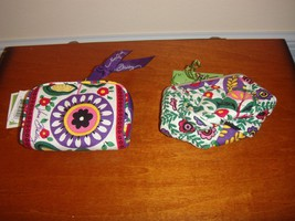 Vera Bradley Viva la Vera, Petite Pouch & Listen Up, (2 Items) (Both Ite... - $24.99
