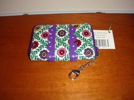 Vera Bradley Viva La Vera Frill Key Card Coin - $15.99