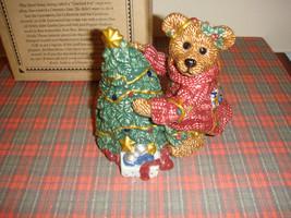 Boyds Bears Elliott &Tree Bearware Pottery Salt And Pepper  - $18.99