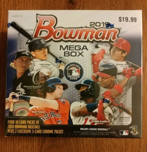 2019 Bowman Mega Box Target Exclusive Factory Sealed
