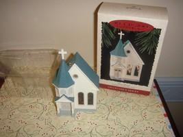 Hallmark 1995 Town Church 12th In Nostalgic House And Shops Ornament - $12.99