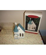 Hallmark 1995 Town Church 12th In Nostalgic House And Shops Ornament - $12.99