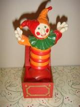 Hallmark Jester~Jack In Box Pop Up Merry Miniature - $13.99