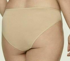 CALVIN KLEIN Womens Plus Size Stretch Cotton Bare Nude Hipster Bikini Panty NWT image 2