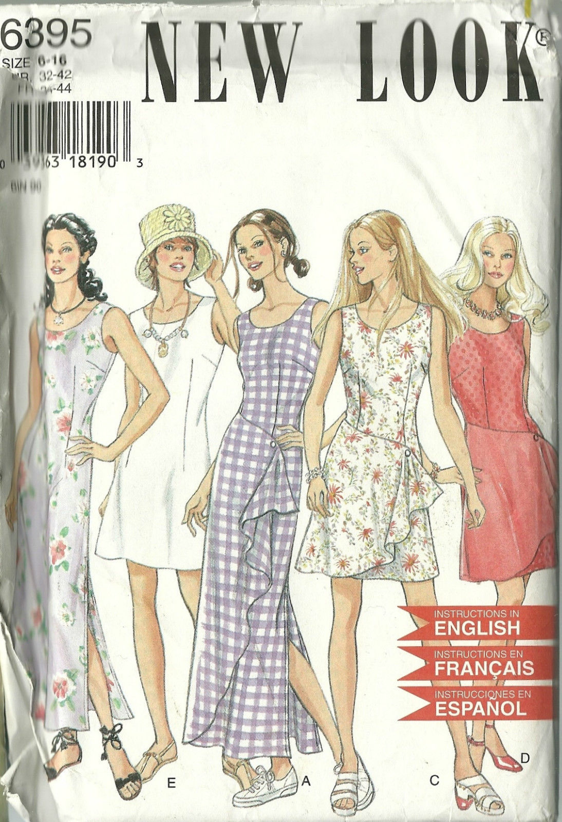 5f7ad47eba4a15 New Look Sewing Pattern 6395 Misses Womens and 50 similar items. 57