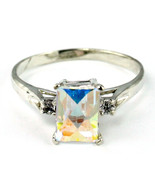 SR171, Mercury Mist Topaz , 925 Sterling Silver Ring - $52.18
