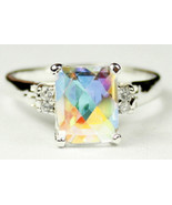SR221, Mercury Mist Topaz , 925 Sterling Silver Ring - $82.55