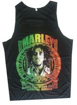 Men Tank Top REGGAE Jamaica Kingston smile Music Marijuana Ganja Weed Ra... - $12.86