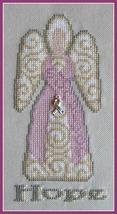 Hope Angel Charmed Sampler cross stitch chart Hinzeit - $10.80