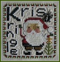 Kris Kringle Word Play cross stitch chart Hinzeit - $7.20