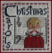 Christmas Carols Word Play cross stitch chart Hinzeit - $7.20