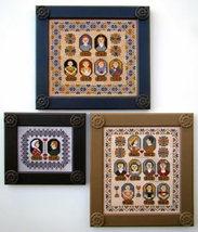 Family Tree Portraits cross stitch chart Carriage House Samplings - $16.20
