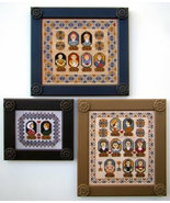 Family Tree Portraits cross stitch chart Carriage House Samplings - $16.20