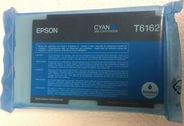 New Genuine OEM Epson Ink Cartridge Cyan T6162 for B-500DN B-510DN - $11.22