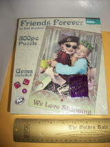 Toy Gift Jigsaw Puzzle 300 Piece Friends Forever Girl Jig Saw Game Poster Gems