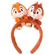 Tokyo Disney Resort Limited Chip & Dale Mascot Headband Disney Sea Hair ... - $62.37