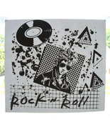 ROCK AND ROLL Original 1980's T-Shirt Iron-On - $9.98