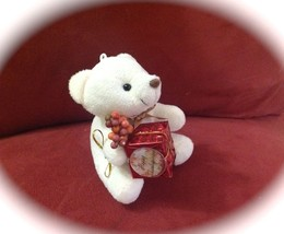 Beautiful Minni Teddy bear for Thanksgiving. Fa... - $4.00