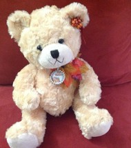 Beautiful Teddy bear for Thanksgiving. Fast shi... - $15.00