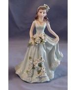 Quinceanera Cake Topper Figure 15 Blue Dress - $6.85