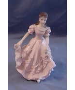 Quinceanera Cake Topper Figure Pink Dress 15 - $6.85