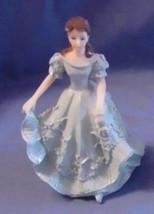 Quinceanera Cake Topper Figure Blue Dress 15 - $6.85