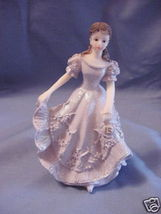 Quinceanera Cake Topper Figure Violet Dress 15 - $6.85
