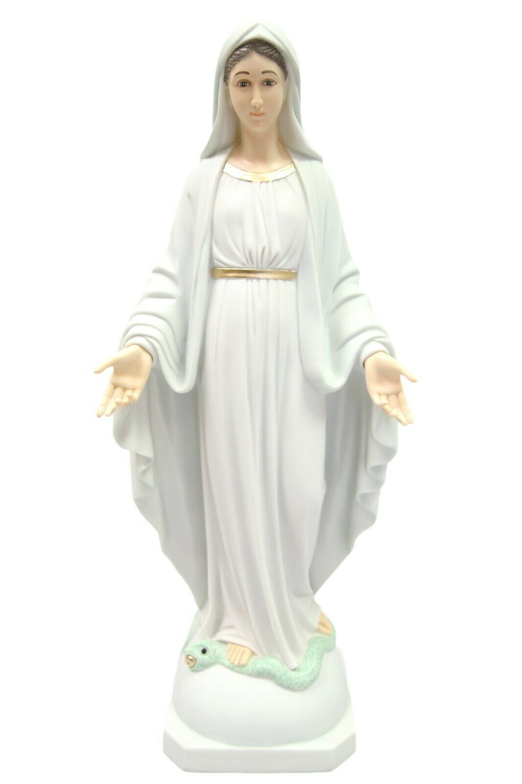 "Primary image for 23.5"" Our Lady of Grace Virgin Mary Mother Catholic Statue Made in Italy"