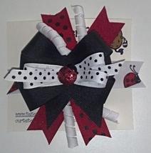 """Lady Bug Hair Bow - 2-1/4"""" - $5.99"""