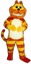 MADE TO ORDER PROFESSIONAL QUALITY CUSTOM CHESHIRE CAT MASCOT COSTUME - $1,195.00