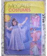 McCalls Butterfly Fairy Princess Angel Costume ... - $15.00
