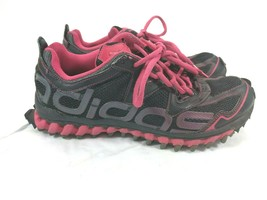 Adidas TR 2 Trail Running Sneakers Shoes Women 7  Pink Black Tennis G20330 - $28.04