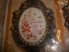 The Greatest Gift Cross Stitch Kit: Comes with Fabric, Floss & Directions - $12.00