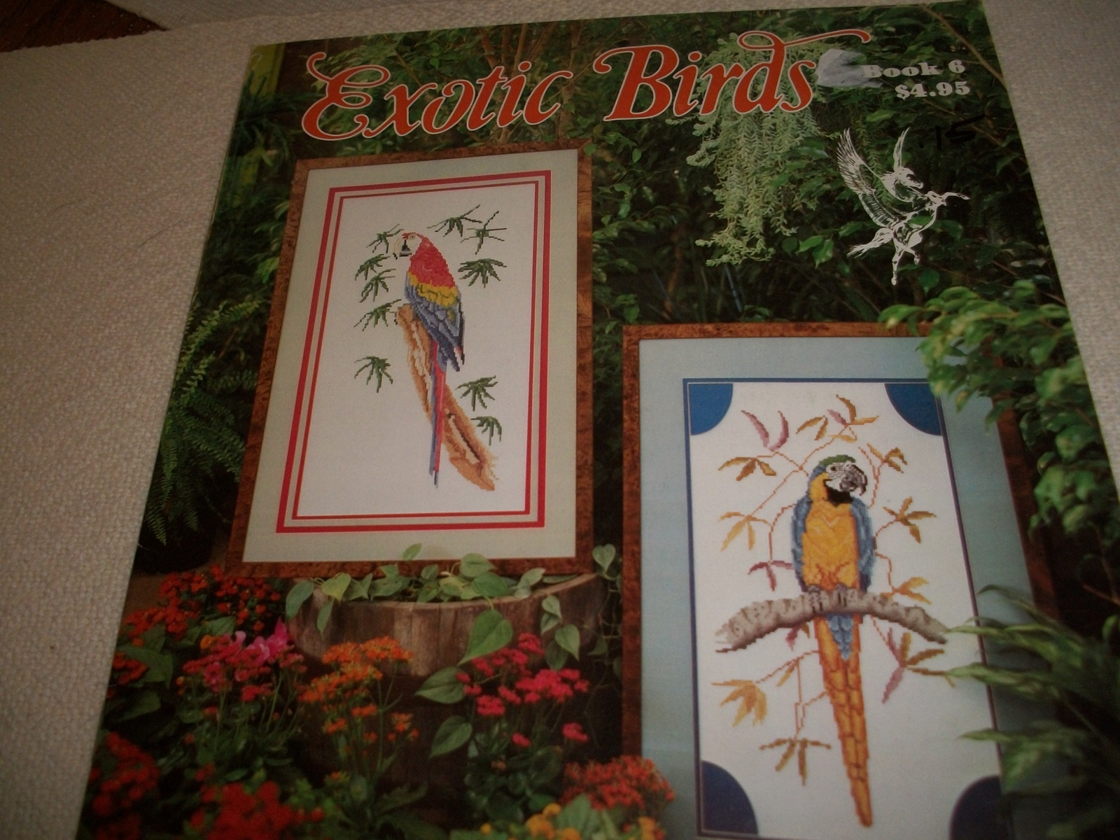 Primary image for Exotic Birds Cross Stitch Book 6
