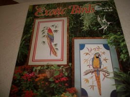 Exotic Birds Cross Stitch Book 6 - $9.00
