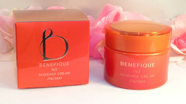 New Shiseido Benefique NT Massage Cream 2.8 oz / 80 g Full Size Jar - $29.99