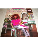 Fashion Doll Dressing Room Plastic Canvas Patterns - $15.00