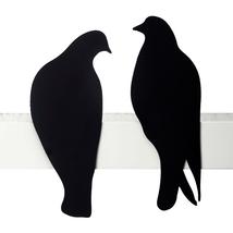 Love Gifts Design Birds Wall Decor Shelf Sculpture Roman 2 Metal Pigeons... - $32.00