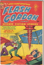 Flash Gordon Comic Book #3, Harvey 1951 VERY FINE - $149.85