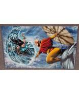 Avatar Korra vs Ang Glossy Print 11 x 17 In Har... - $24.99