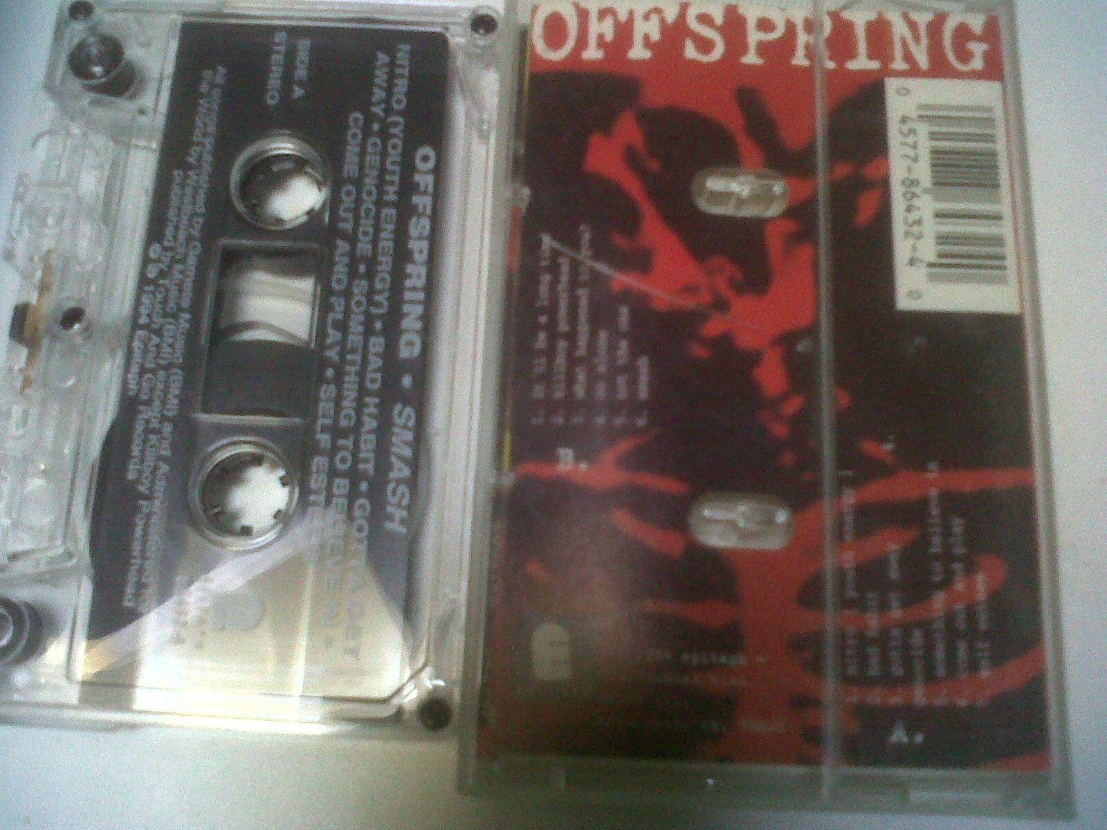 The Offspring Smash USA Cassette case nitro stereo epitaph killboy powerhead 94