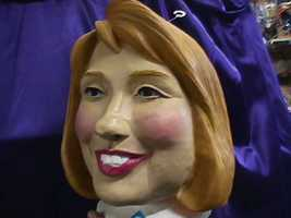 Latex Senator Hillary Clinton Mask Former 1st Lady - $30.00