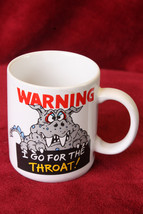 "Vintage Hallmark ""Warning"" Monster Coffee Mug - $6.99"