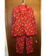 Secret Treasures Penguin Fleece Pajama Set Missy Small - $9.99
