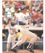 LOS ANGELES DODGERS OREL HERSHISER KIRK GIBSON 2 1989 PINUP PHOTOS  - $1.75