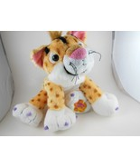 """Groovy Girls Cha Cha Cat  Leopard Patches  9""""  Soft & Cuddly Petrageous! - $9.94"""